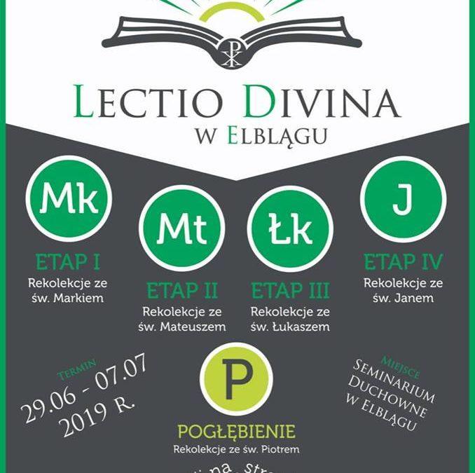 Lectio Divina w Elblągu